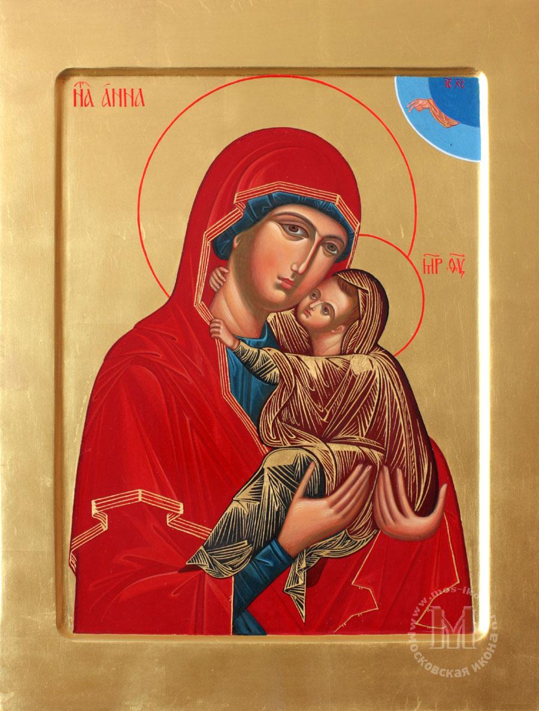 Богородицы с младенцем марией